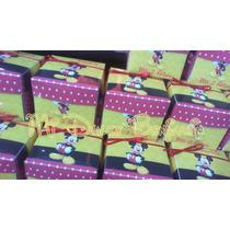 Invitaciones Cajitas Mickey,peppa