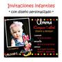 Minnie Roja O Rosa 25 Invitaciones Cumpleaños Cartel Regalo