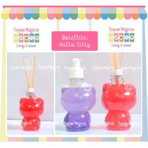 Envases Kitty Botellitas Ideal Souvenir Candy Bar X 10 !!!
