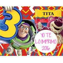 Kit Imprimible Toy Story + Candy Bar Ytli2016