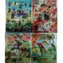 10 Planchas Stickers 20x25 Dinosaurios River Boca Futbol