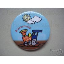 10 Pins Prendedores Personalizados. Jardines Y Colegios 55mm