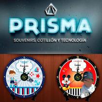 Reloj Souvenir Cd Personalizado - Pilas Y Atril Gratis!!