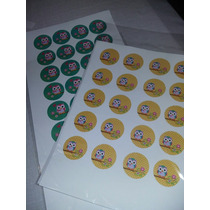 Stikers Autoadghesivos Para Candy Bar Personalizados