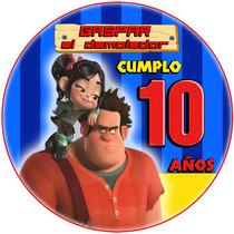 Kit Imprimible Ralph El Demoledor Candy Bar Golosinas