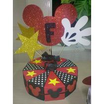 Bolsitas Dulces, Cajitas Souvenirs, Torta De Cajitas Mickey