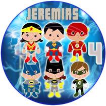 Kit Imprimible Superheroes Babys Candy Bar Etiquetas