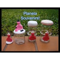 Frascos Decorados Para Princesas! Souvenirs Nena Coqueta