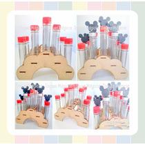 Porta Tubos Golosineros Envases Soporte Souvenir Candy Bar