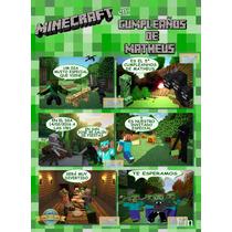 Invitación Imprimible Del Minecraft Para Imprimir