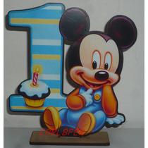 Souvenirs Mickey Bebe Minnie Bebe En Fibrofacil