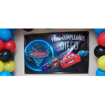 Banner De Lona Personalizados - Cumpleaños Candy Bar 2x1 M