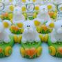 10 Autos Con Animalitos Souvenirs (porcelana Fria)