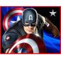 Kit Imprimible Capitan America + Candy Imprimible Promo 2x1
