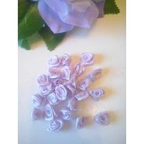 10 Rositas Flores Rosas Rococo Roccoco Souvenir Decoracion