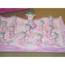 Jirafitas Para Souvenirs De Nacimiento En Porcelana Fría