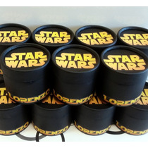 Star Wars - Souvenir Cajita Golosinero 8,5 X 8,5 Cm.