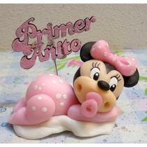 Minnie Bebe En Porcelana Fria