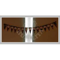 Banderín Feliz Cumple Ambientación Niños, Adultos, Festejos