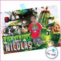 Poster Cartel De Bienvenida Personalizado Cumple Infantil