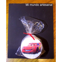 Tizas Con Pizarra - 12 Un. - Cars - Rayo - Mate - Souvenirs