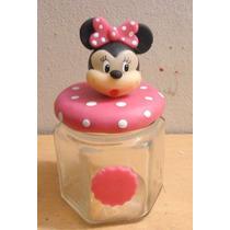 Frascos Golosineros Minie Y Mickey