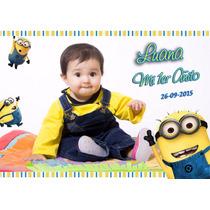 Tarjeta Foto Invitacion Cumpleaños Infantil 15años 7x10