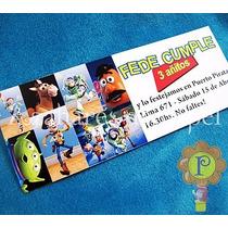 Toy Story Invitaciones Tarjetas Cumpleaños Personalizadas