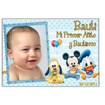 Invitaciones Tarjetas Infantiles Con Foto 1er Añito