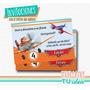 Aviones - Invitación Para Imprimir