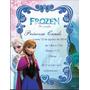 Invitaciones Tarjetas Infantiles Frozen Banderines Unicas