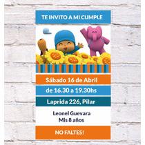 Invitaciones Pocoyo X10u