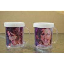 Lote 10 Souvenirs Tazas Violetta Plastica Personalizada