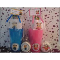 Souvenirs Vaso + Toalla Personalizada + Cepillo + Jabón X 10