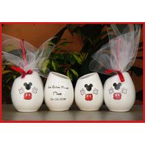 Mates Tazas Personalizados Cumpleaños Mickey, Minnie Y Mas!!
