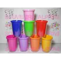 Vasos De Colores Lisos Foto Vaso Ideal Personalizado X 30 Un