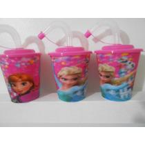10 Vasos Princesita Sofia,frozen Tapa Sorbete.souvenirs