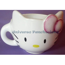 Taza Kitty Pintada A Mano Ideal Souvenir