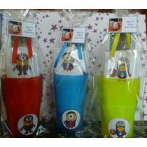 Souvenirs 10 Vasos + Toalla Estampada + Cepillo De Dientes