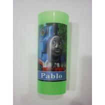 Vasos Plasticos Personalizados Tren Thomas Lavables 10u
