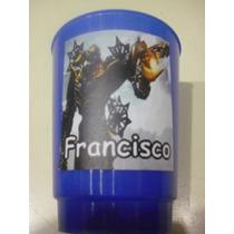 Vasos Plasticos Personalizados Transformers Lavables 10u