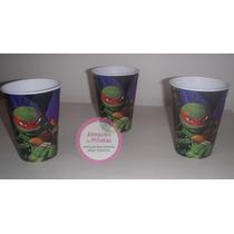 Vasos Descartables Personalizados Tortugas Ninja!!