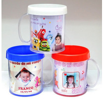 Tazas Y Vasos Plasticos Personalizados Souvenir Portafoto