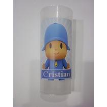 Vasos Plasticos Personalizados Pocoyo Lavables 10u