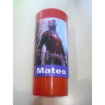 Vasos Plasticos Personalizados Ant Man Lavables 10u