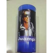 Vasos Plasticos Personalizados Terminator Lavables - 10u