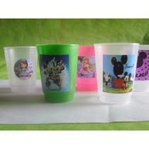 Vasos Plasticos Personalizados Lavables Cumpleaños 10u