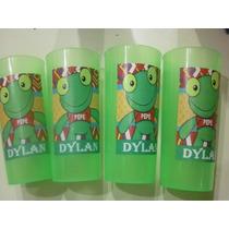 Vasos Plasticos Personalizados Sapo Pepe Lavables - 10u