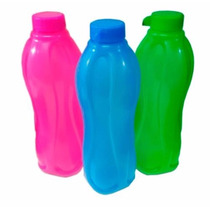 Botellas Con Tapa Souvenir Recreo Gimnasio Deporte 300cc