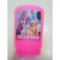 Vasos Plasticos Personalizados Little Pony Pequeño Pony 10u